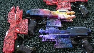 EPIC!! Customise Nerf gun Singapore for your Nerf war Tournament using  Hydrographics by DipGraphics