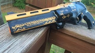 """Real Life """"Last Word"""" from Destiny (Functional Nerf Gun Replica)"""