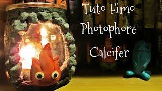 ♥ Tuto fimo bougeoir photophore Calcifer – Le chateau ambulant/Calcifer – Howl's Moving Castle ♥