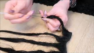 Dreadlock Tutorial (Crochet Method)