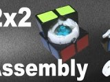 ANY 2×2 Rubik's Cube Disassembly and Assembly Tutorial