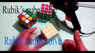 How to Solve the 3×3 Rubik's Cube ( Rubik's cube solve tutorial)