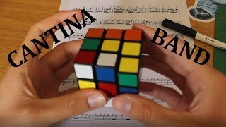 """""""Cantina Theme"""" Played By Rubik's Cube Whilst Being Solved"""