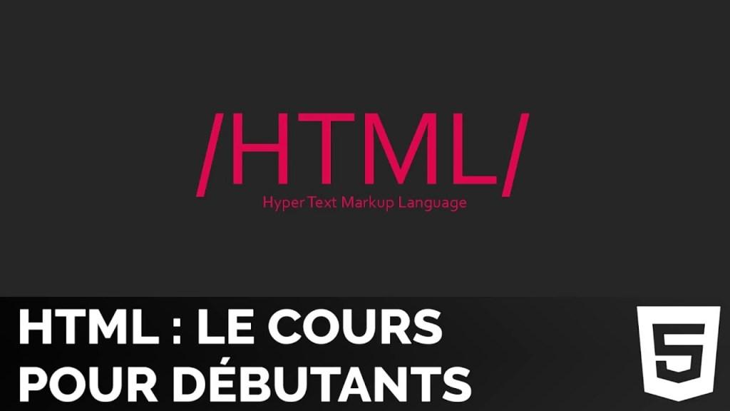 Tutoriel HTML5 Complet Pour Débutants – Créer un blog en HTML