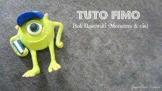 [ TUTO FIMO ] Bob Razowski ( Monstres & Cie) ♥