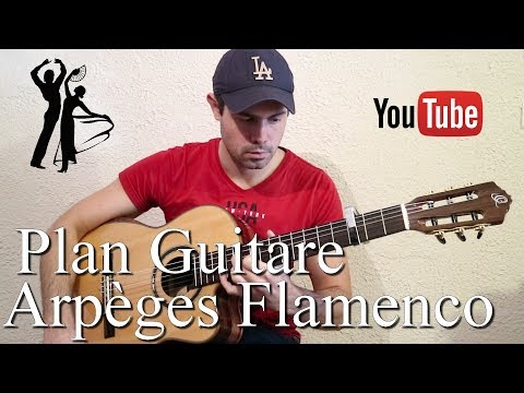 ? Plan Guitare : Arpèges Flamenco