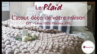 DIY – Plaid – Laine XXL Mérinos