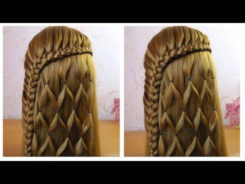 Coiffure facile a realiser sur cheveux long