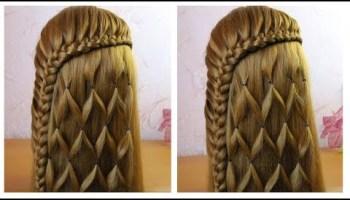 Tuto Coiffure Simple Belle Coiffure Facile A Faire Cheveux Long Mi