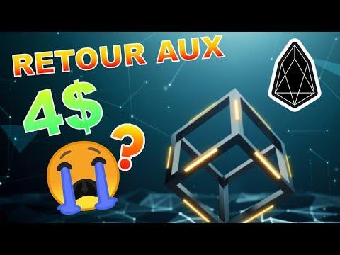 EOS 4$ LE RETOUR !!!??? analyse technique crypto monnaie bitcoin