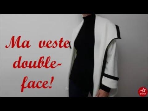 Tuto couture  : Coudre sa veste double face et réaliser son patron:)