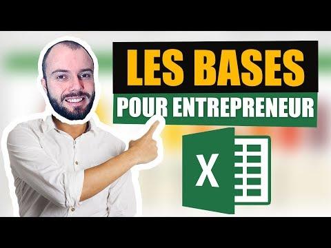 Initiation à Excel – Les bases pour faire sa comptabilité et son prévisionnel