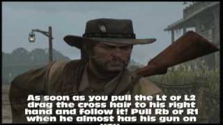 Red Dead Redemption Dueling Guide