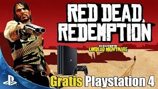 Red Dead Redemption en PS4 GRATIS – Tutorial y Muchos mas Juegos