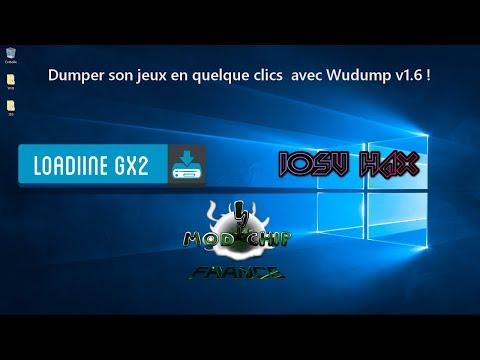 [TUTO] Faire un dump(copie) d'un jeu physique sur WiiU avec Wudump v1.06  !!