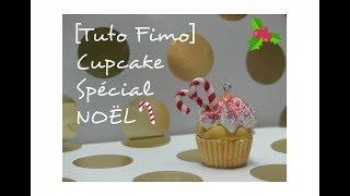 Tuto Fimo – Cupcake Spécial Noël !