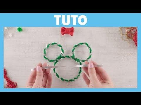 Mickey et ses amis : Top Départ ! – Tuto : Décoration d'arbre Minnie