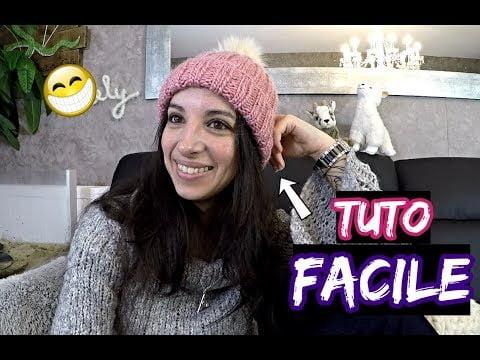 Tuto : Tricoter un bonnet femme facile