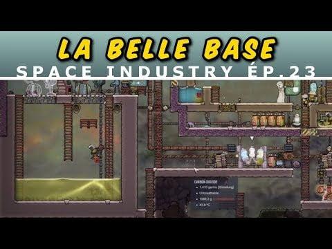 [FR] Explo vers le bas et travaux divers – La «Belle Base» 23 – Oxygen Not Included gameplay
