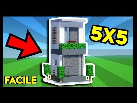 Comment Faire Une Grande Maison Moderne Facilement Tuto Minecraft
