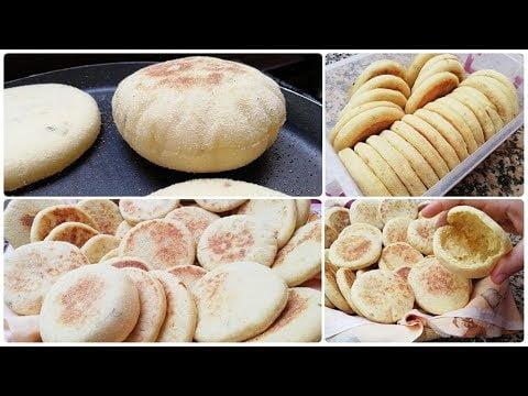 Recette Petits Pains Batbout Marocain Facile et Rapide – ramadan2019