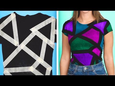 39 Astuces de Mode Colorées POUR TES VÊTEMENTS ENNUYEUX