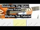 Smoke On The Water Guitar Lesson Rhythm Tab Tutorial Guitar Lessons for Beginners