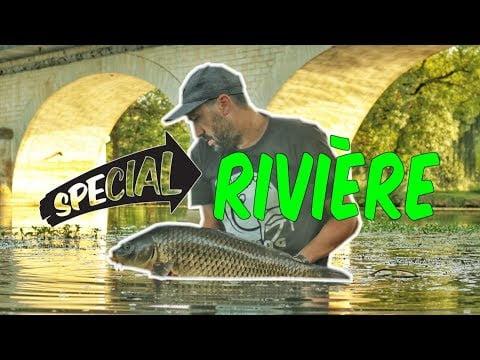 TUTO SPÉCIAL RIVIÈRE : Montage carpe, matériels et astuces (et un peu de pêche aussi…)