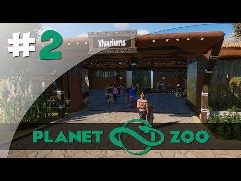 Vivarium Africain – #2 Planet Zoo