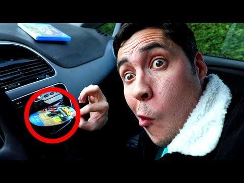 Peut-on utiliser des jeux vidéo dans l'autoradio de sa voiture ?