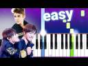 Nothing Like Us – Justin Bieber, Jungkook & V (100% EASY PIANO TUTORIAL)