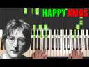 John Lennon – Happy Xmas (Piano Tutorial Lesson)