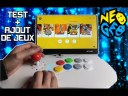 NEOGEO STICK ARCADE PRO TEST + AJOUT DE JEUX !