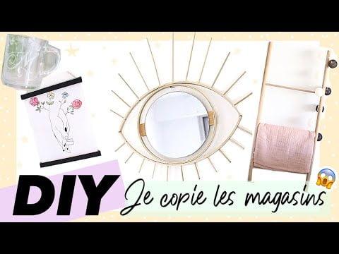 DIY DECO / JE COPIE LES GRANDES ENSEIGNES 🤟 ✂️ (+ idées cadeau saint valentin à faire soi même)