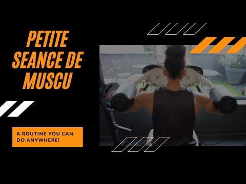 PETITE SEANCE DE MUSCULATION AVEC MOI ET UNE INVITE SPECIALE !!! TUTORIEL 2