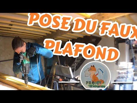 POSE DU FAUX PLAFOND ! (Ep20)