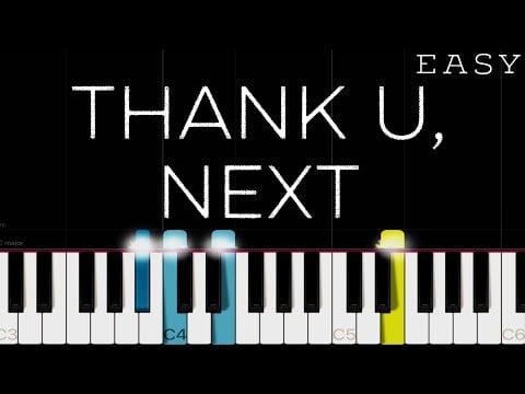 Ariana Grande – thank u, next   Piano Tutorial