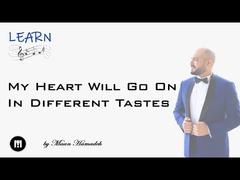 My Heart Will Go On (IDT) Synthesia Tutorial  – Maan Hamadeh