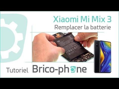 Tutoriel Xiaomi Mi Mix 3 : changer la batterie