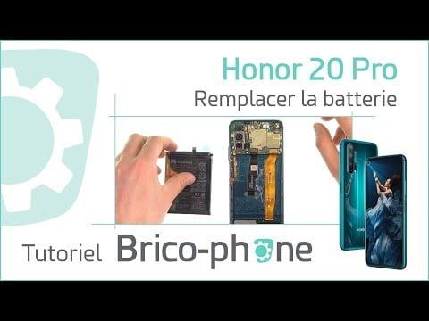 Tutoriel Honor 20 Pro : changer la batterie