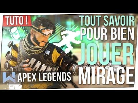 Tuto Mirage : Tout SAVOIR pour BIEN LE JOUER (SAISON 5) ! Apex Legends FR
