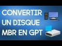 Convertir facilement un disque MBR en GPT | Installation de Windows