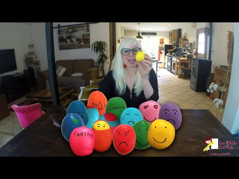 Tuto diy loisirs créatifs Balles sensorielles Balles émotions Balles anti-stress Balles de jonglage