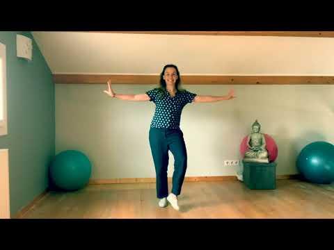 Tuto : apprendre à danser Décomposition dance challenge  «Jérusalema» chorégraphie