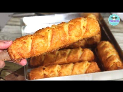 Feuilleté au Fromage très croustillant (borek turc) Super Simple Avec des Ingrédients basique ‼️