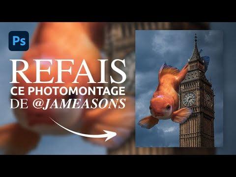 Tuto Photoshop : Comment créer ce photomontage de @Jameasons !