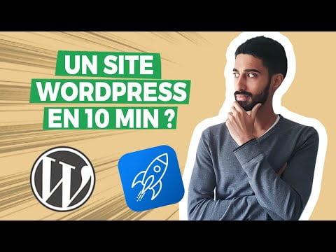 Créer un site WordPress en moins de 10 minutes (Tutoriel Starter Templates)