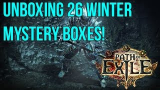 Path Of Exile: Opening 26 Mystery Loot-Boxes – What an Incredible Light Show!