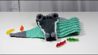 Tricotin – Echarpe crocodile I Loom Knitting
