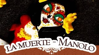 TUTO FIMO: LA MUERTE CATRINA | LA LÉGENDE DE MANOLO/Polymerclay tutorial